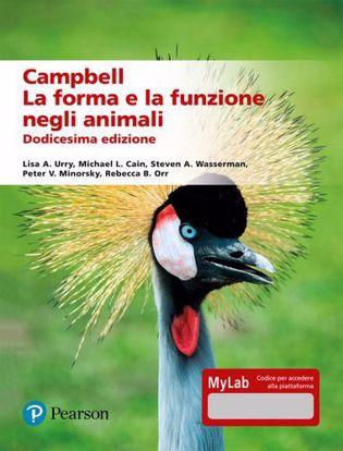 Immagine di Campbell. La forma e la funzione negli animali. Ediz. mylab
