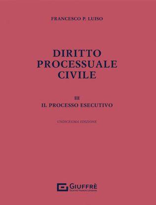 Immagine di Diritto processuale civile vol.3. Il processo esecutivo