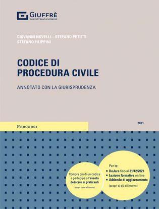 Immagine di Codice di procedura civile 2021. Annotato con la giurisprudenza. Con Contenuto digitale per download e accesso on line
