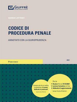 Immagine di Codice di procedura penale 2021. Annotato con la giurisprudenza