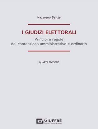 Immagine di I giudizi elettorali. Principi e regole del contenzioso amministrativo e ordinario