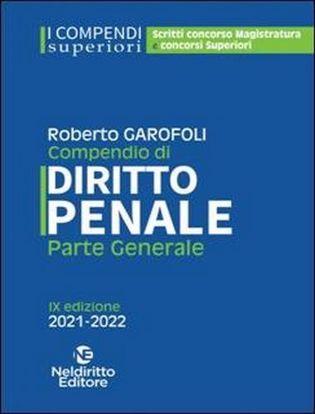 Immagine di Compendio superiore di diritto penale. Parte generale 2021-2021