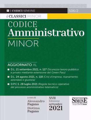 Immagine di Codice Amministrativo Minor – Settembre 2021