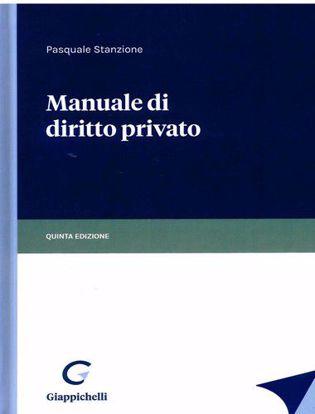 Immagine di Manuale di diritto privato