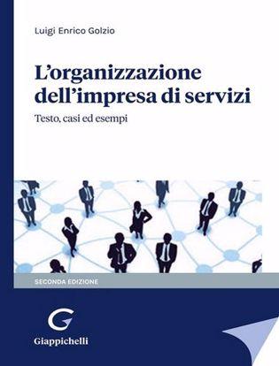 Immagine di L'organizzazione dell'impresa di servizi. Testo, casi ed esempi