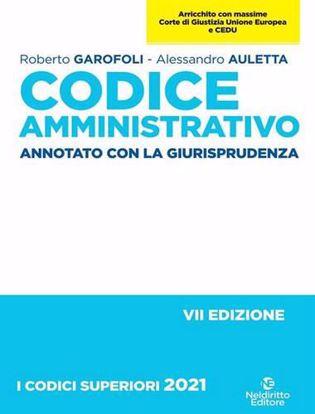 Immagine di Codice amministrativo. Annotato con la giurisprudenza 2021