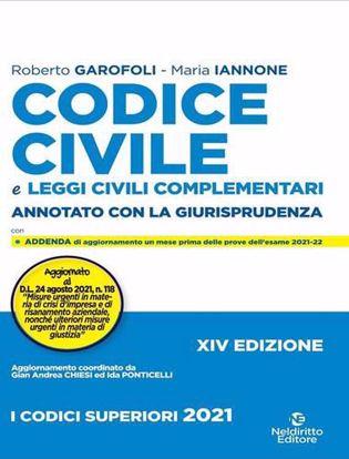 Immagine di Codice civile. Annotato con la giurisprudenza 2021