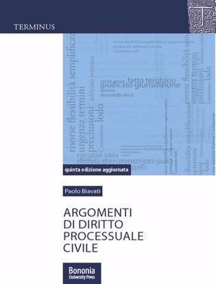 Immagine di Argomenti di diritto processuale civile
